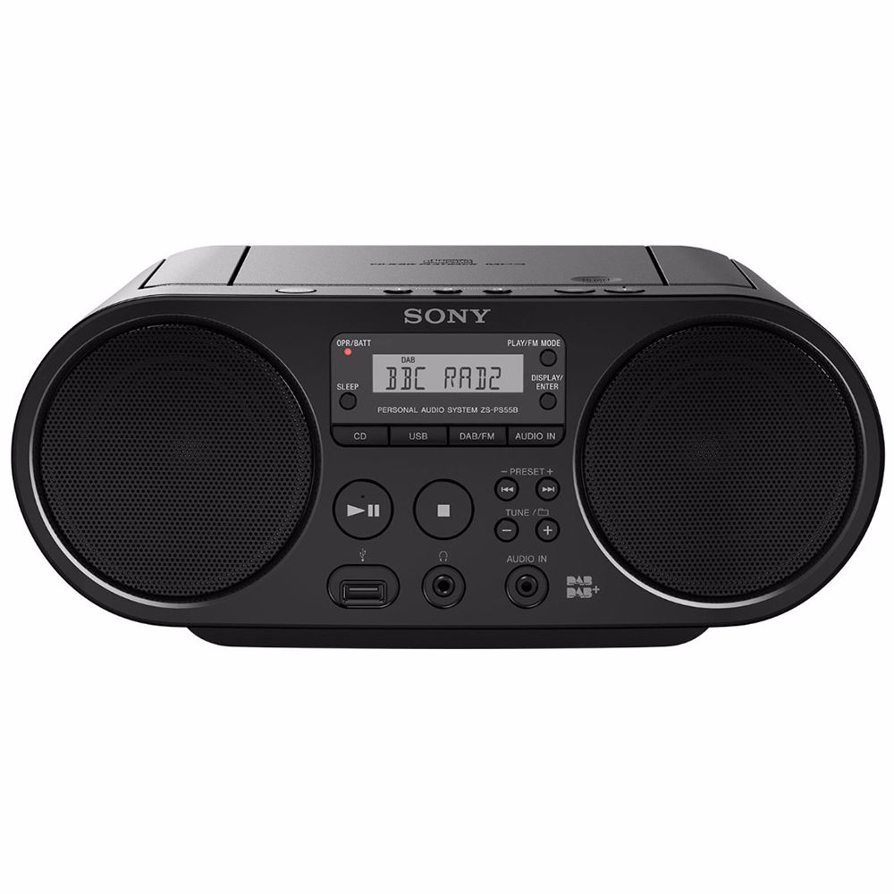Sony DAB radio/CD speler ZS-PS55B