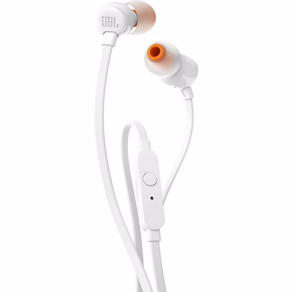 JBL in-ear hoofdtelefoon Tune 110 T110 (Wit)