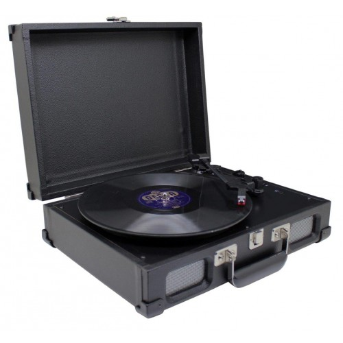 Soundmaster platenspeler PL580SW (Zwart)