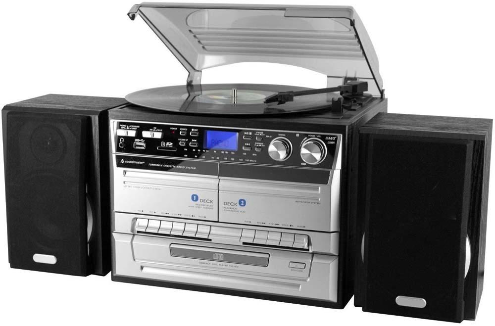Soundmaster platenspeler MCD4500USB