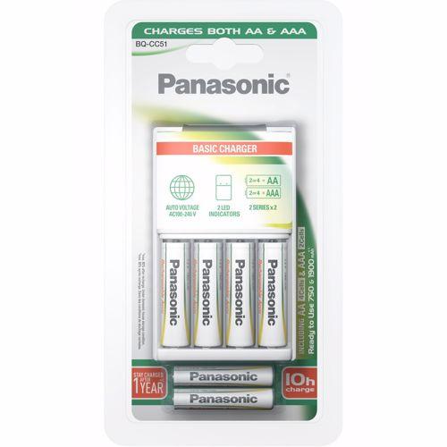 Panasonic batterijlader EVOLTA 10H 4AA+2AAA
