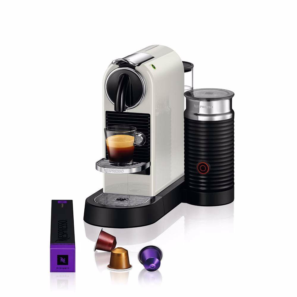 Nespresso Magimix koffieapparaat CitiZ & Milk M195 (Wit)
