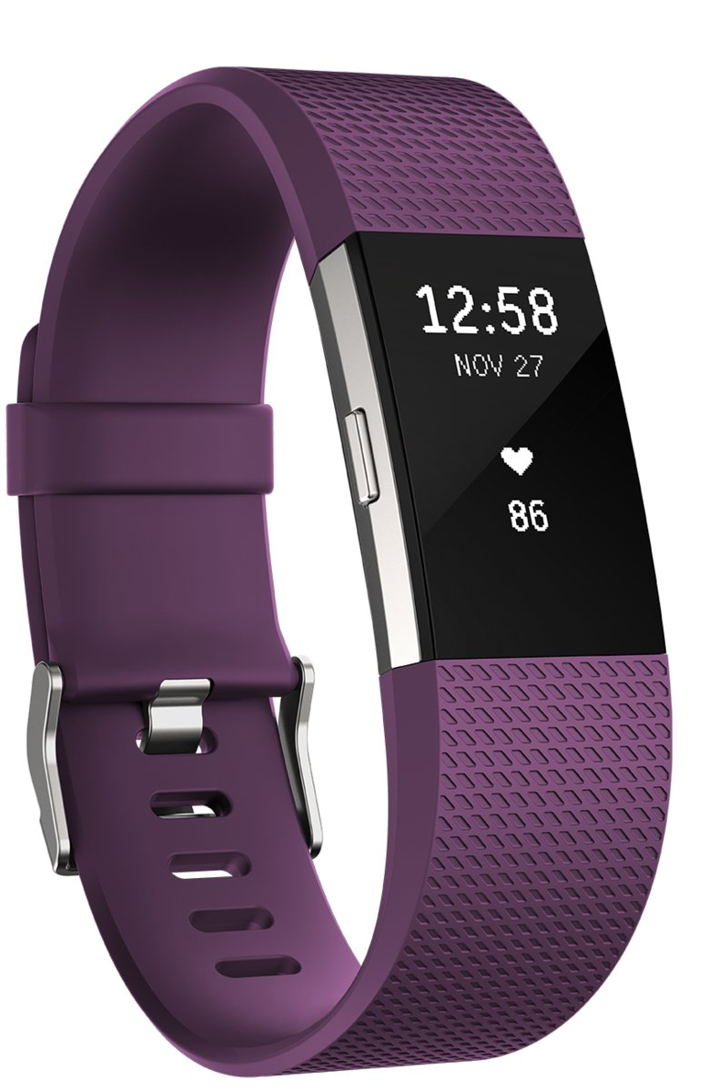 Fitbit Charge 2 Paars (Large)