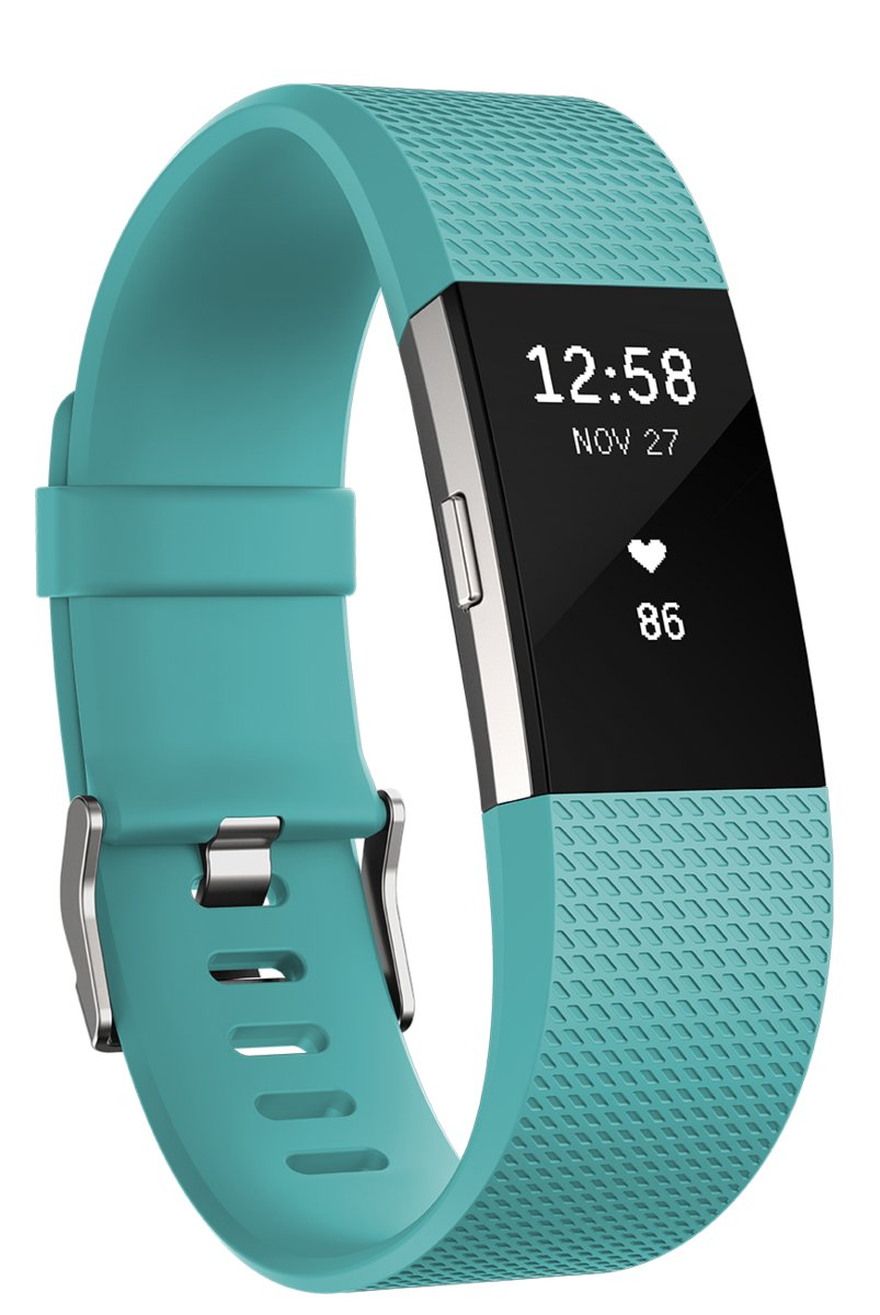 Fitbit Charge 2 Groen (Large)