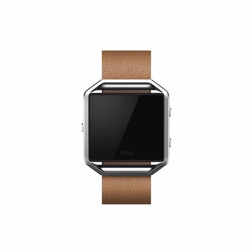 Fitbit Blaze accessoire leer Camel (Large)