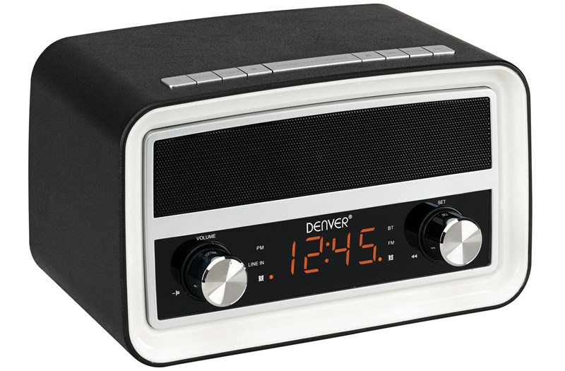 Denver wekkerradio CRB619 zwart