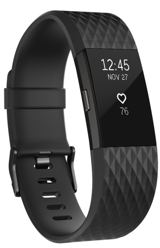 Fitbit Charge 2 Gun Metal Small
