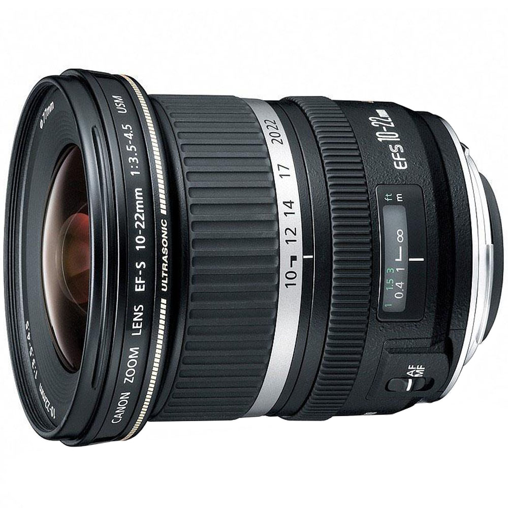 Canon objectief EFS10 22mm F 3.5 4.5 USM