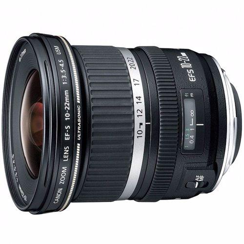 Canon objectief EFS10-22mm F/3.5-4.5 USM