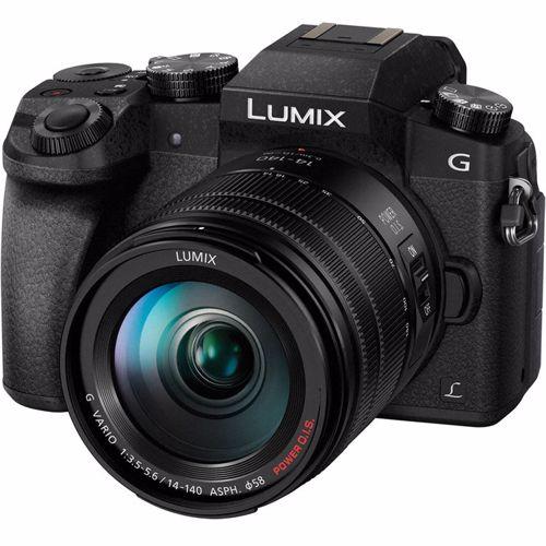 Panasonic systeemcamera LUMIX G DMC G7 14 140 ZW
