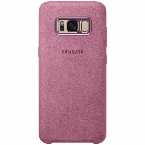 Samsung telefoonhoesje ALCANTARA COVER S8 ROZE