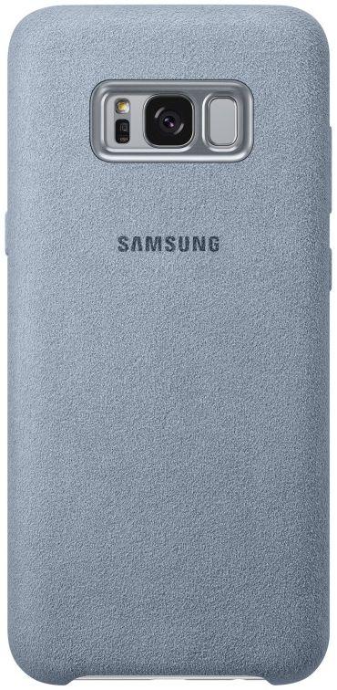 Samsung telefoonhoesje ALCANTARA COVER S8+ MINTGROEN