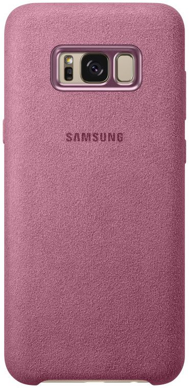 Samsung telefoonhoesje ALCANTARA COVER S8+ ROZE