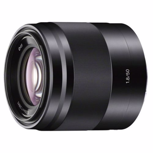 Sony objectief 50mm F 1.8 PORTRET voor systeemcamera
