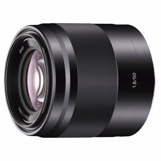 Sony objectief 50mm F/1.8 PORTRET voor systeemcamera