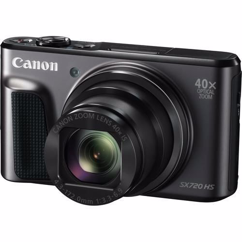 Canon compact camera SX 720 PACK met tas en SD kaart