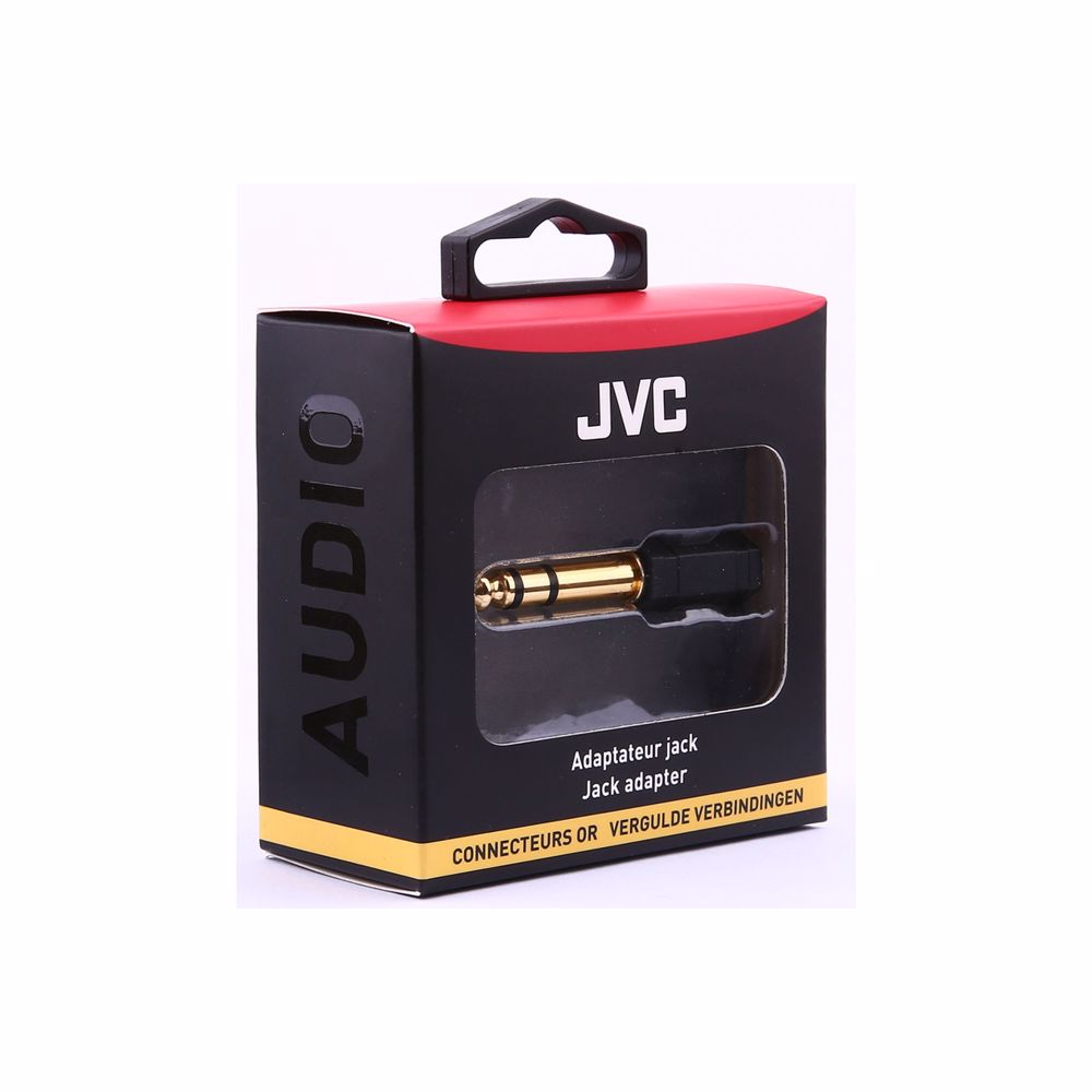 JVC analoge audiokabel J. 3.5 STEREO FEMALE  J. 6.35 STEREO MALE GOLD