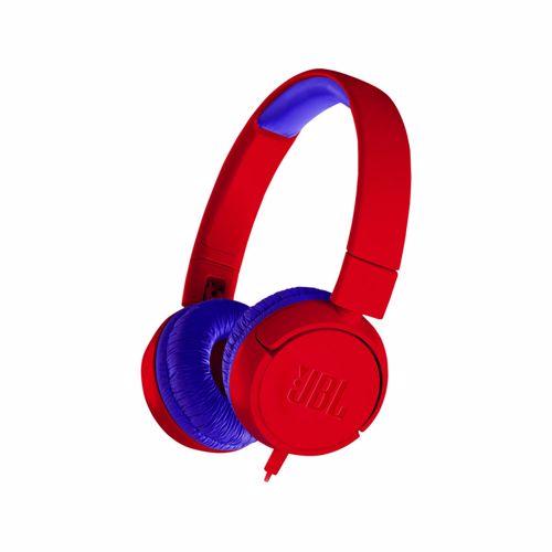 JBL hoofdtelefoon JR300 (Rood)