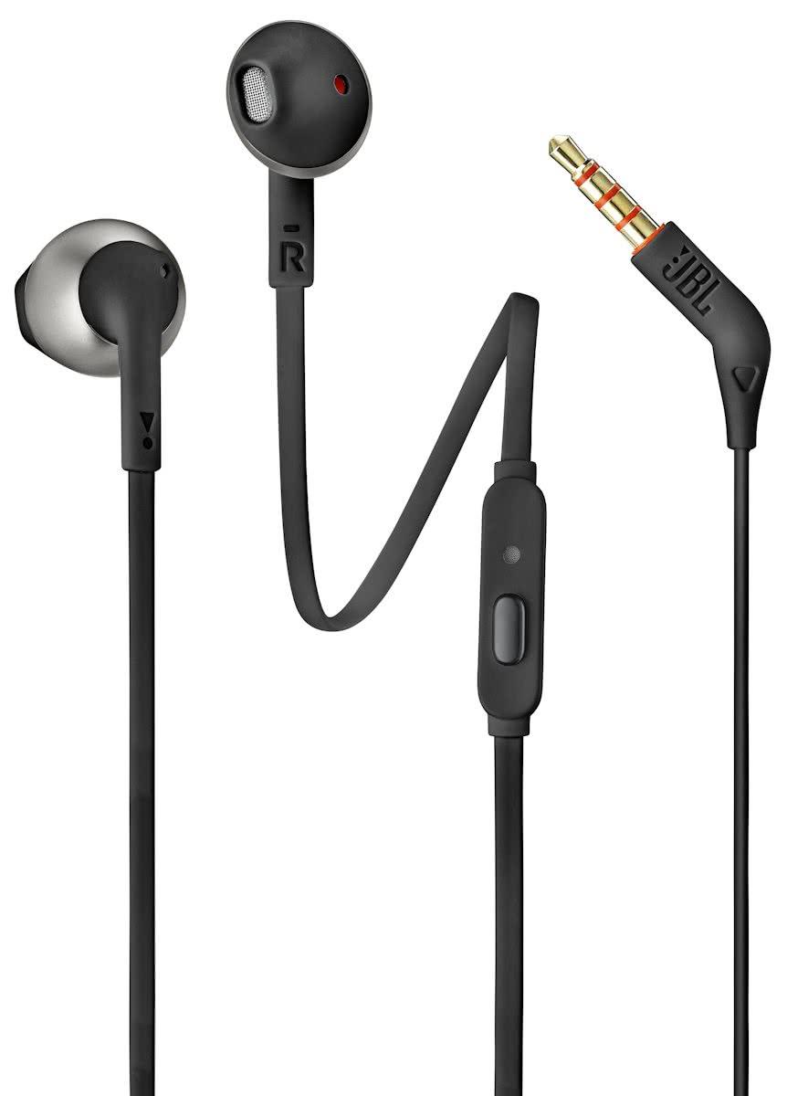 JBL in ear hoofdtelefoon Tune 205 T205 Zwart