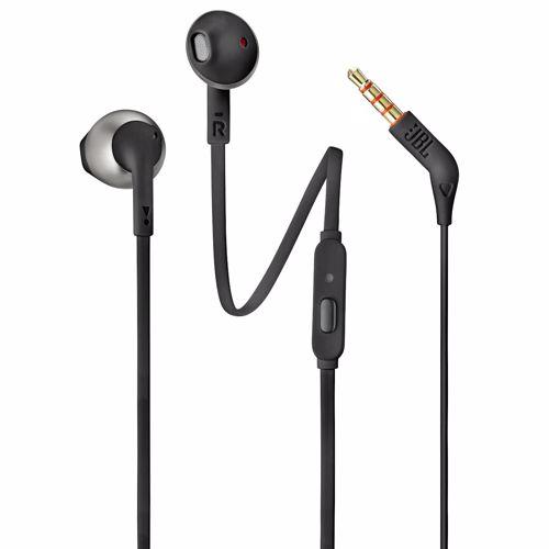 Foto van JBL in-ear hoofdtelefoon Tune 205 T205 (Zwart)