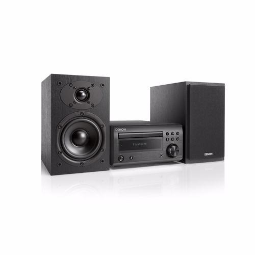 Foto van Denon microset D-M41 DAB+ (Zwart/Zwarte speakers)