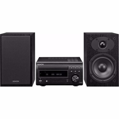 Denon microset D-M41 (Zwart/Zwarte speakers)