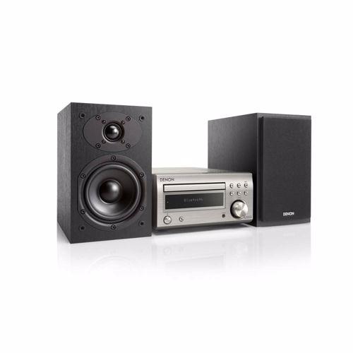 Denon microset D-M41 (Zilver/Zwarte speakers)