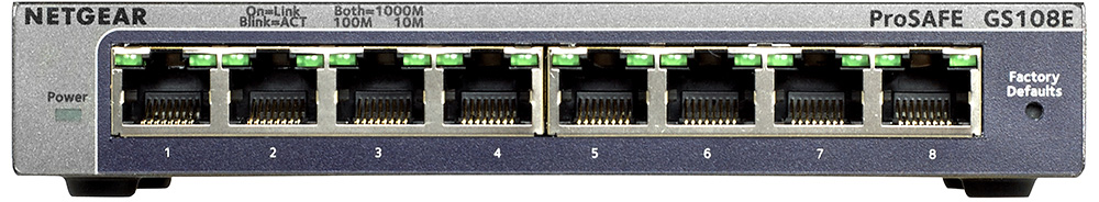 Netgear netwerk switch GS108E 300PES