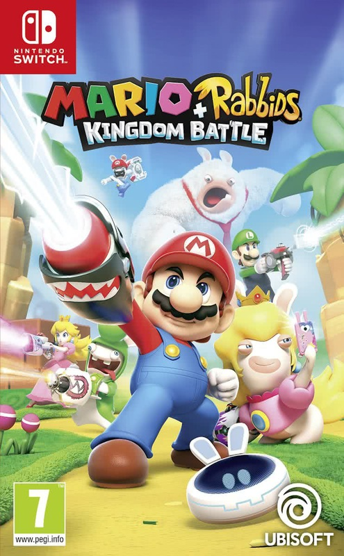 Nintendo Mario Rabbids Kingdom Battle Switch
