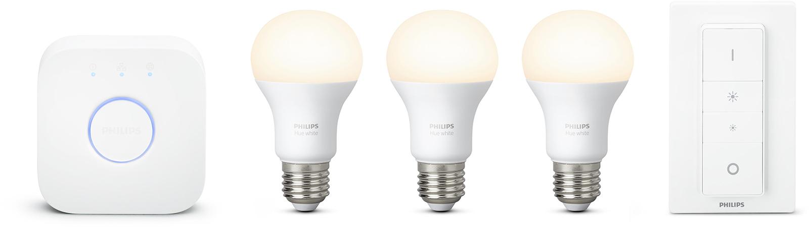 Philips Hue sfeerverlichting White E27 Starterkit