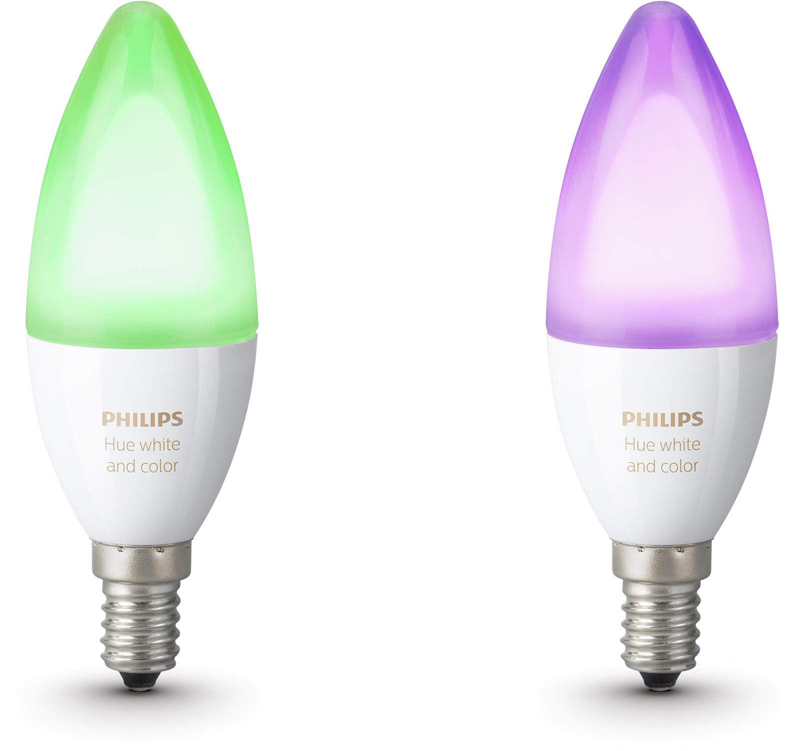 Philips Hue sfeerverlichting White Color Ambiance E14 Duopak