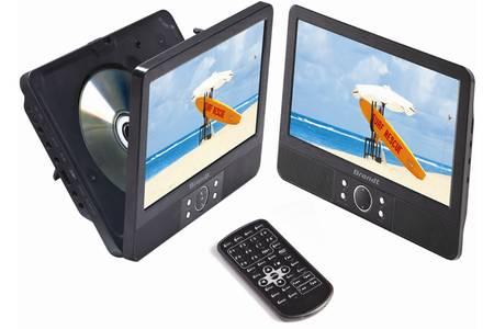 Brandt portable DVD speler DVDP 9X2 DUO