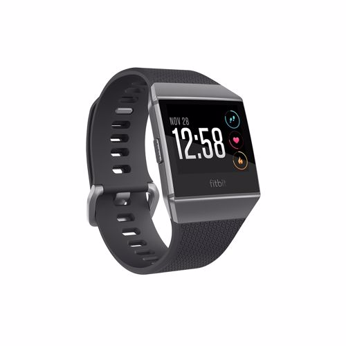 Fitbit smartwatch Ionic (Charcoal / Smoke Gray)