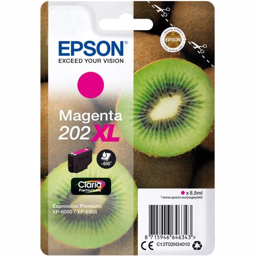 Epson cartridge 202 XL MAGENTA