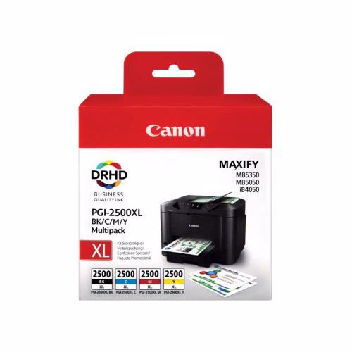 Canon cartridge PGI 2500XL MULTI BCMY