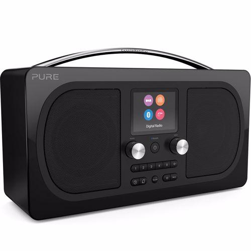 Pure draagbare radio Evoke H6 Prestige Zwart