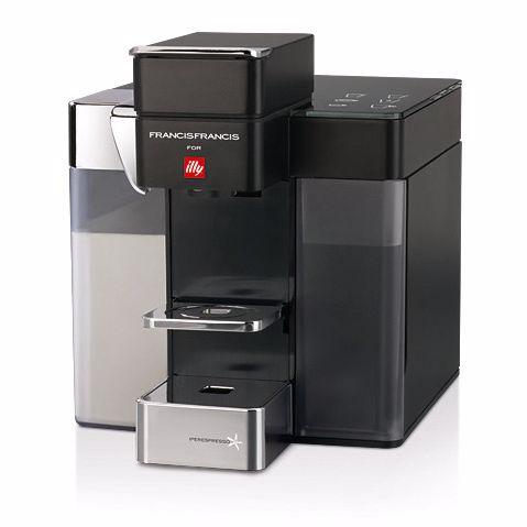 illy koffiemachine Y5 Milk (Zwart)