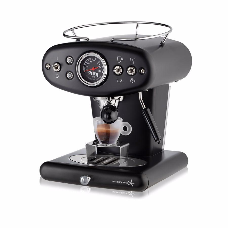 illy espressomachine X1 Anniversary Espresso & Coffee (Zwart)