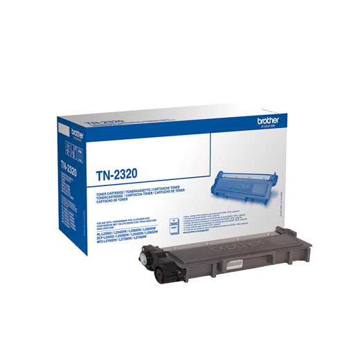 Brother toner cartridge TN2320 NOIR