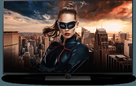 Panasonic 4K Ultra HD TV TX 55FZW804