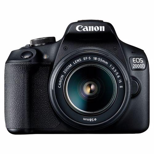 Canon spiegelreflexcamera EOS 2000D+18-55IS II lens