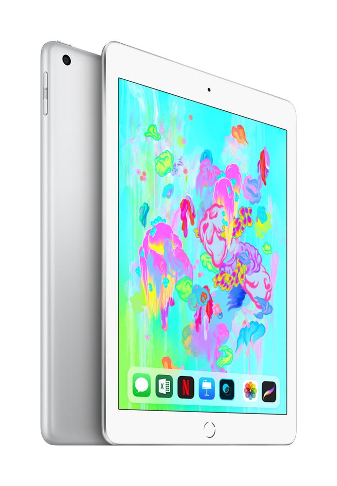 Apple iPad 2018 128 GB Wifi (Zilver)