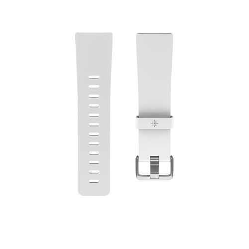Fitbit Versa Classic polsband maat Large (Wit)