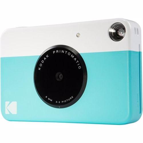 Kodak compact camera PRINTOMATIC BLUE INCL ZINK PAPER VOOR 20 FOTO'S