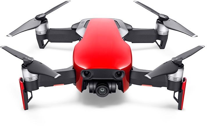 DJI cameradrone MAVIC AIR FLY MORE COMBO (Rood)