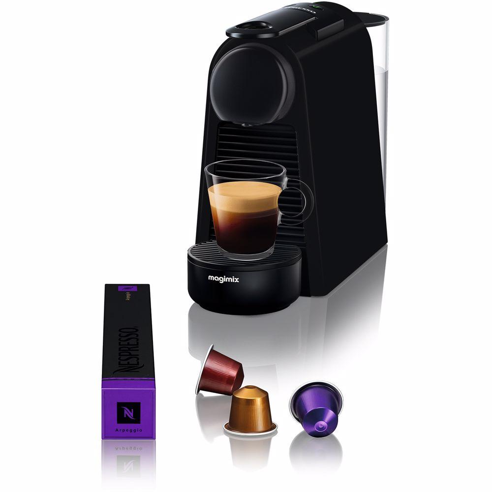 Nespresso Magimix Essenza Mini Limited Edition (Mat Zwart)