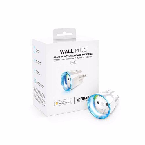 FIBARO slimme stekker Wall Plug Type F met Apple HomeKit