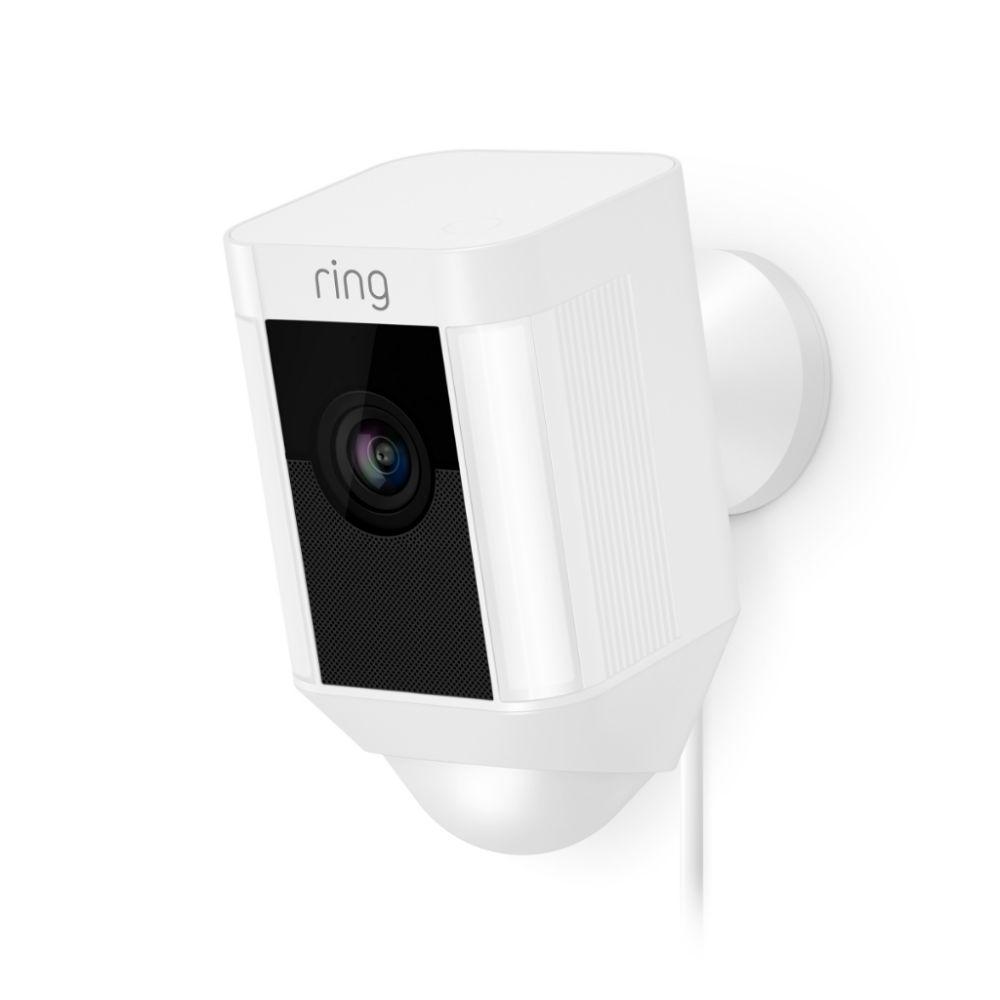 Ring IP camera Spotlight Cam Bedraad Wit