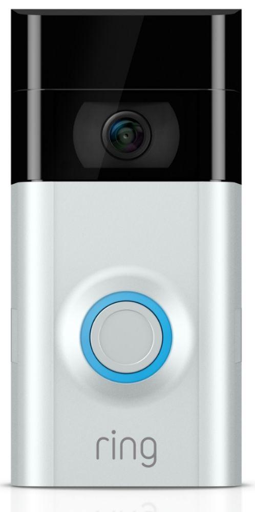 Ring IP camera Video Deurbel 2 Zilver