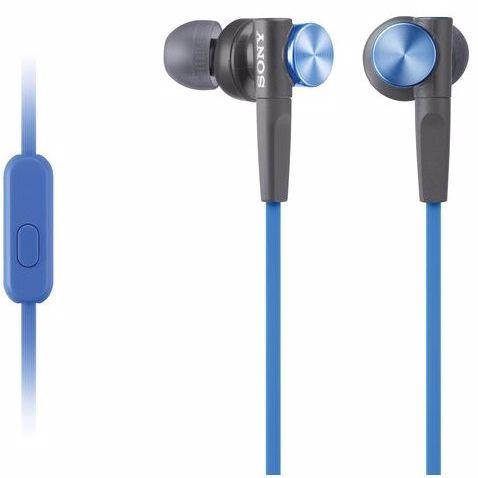 Sony in-ear hoofdtelefoon MDRXB50AP (Blauw)